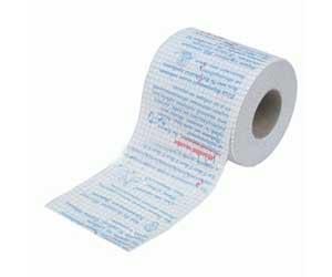 Производство туалетной бумаги с анекдотами
