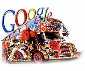 Автобус компании Google путешествует по миру