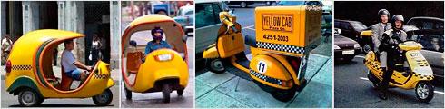 Борьба с пробками со скутер-такси
