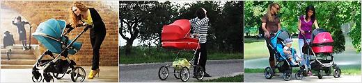 Обучение вождению детской коляски