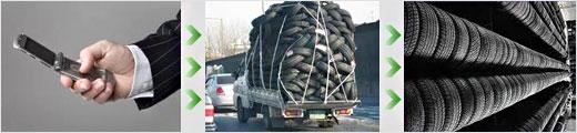 Сезонное хранилище автомобильных колес
