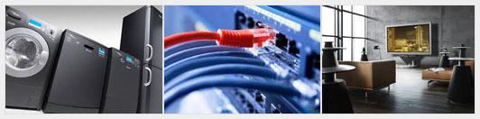 Услуга подключения и настройки техники и электроники