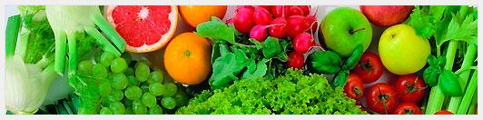 Богатство ассортимента в овощном магазине