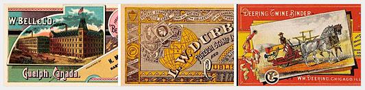 Старинные визитки