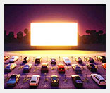 Открываем кинотеатр для автомобилистов