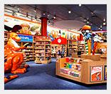 Что представляет собой книжный магазин для детей?