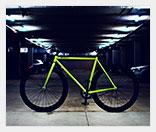 Светящийся велосипед