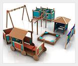 Бизнес на строительстве детских площадок