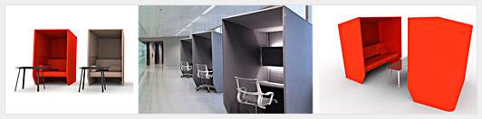 Производство звукопоглощающей мебели для офисов