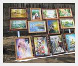 Как заработать на рынке антикварных картин?