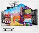 Бизнес на росписи зданий и сооружений