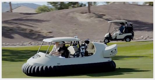 Машинка для гольфа vs Bubba's Hover