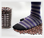 Кофейные носки