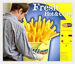 Вендинговая продажа картошки фри