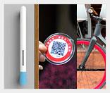 идеи бизнеса - велосипед, ручка-санитайзер и бейджи для стариков