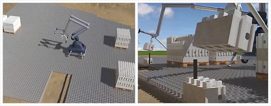 Строительные блоки в стиле кирпичиков LEGO