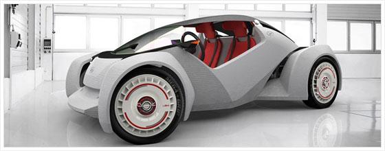 Авто из 3D принтера
