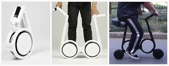 Велосипед, который можно носить с собой