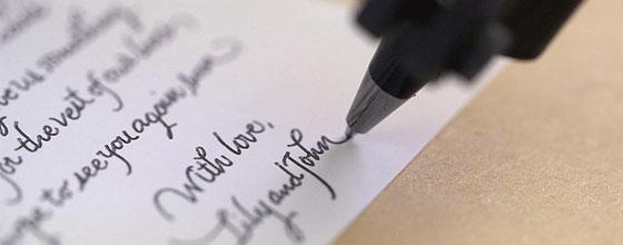 Робот с рукописным почерком