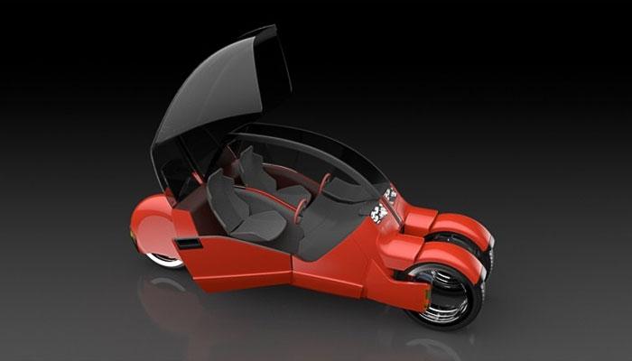 Автомобиль, превращающийся в мотоциклы