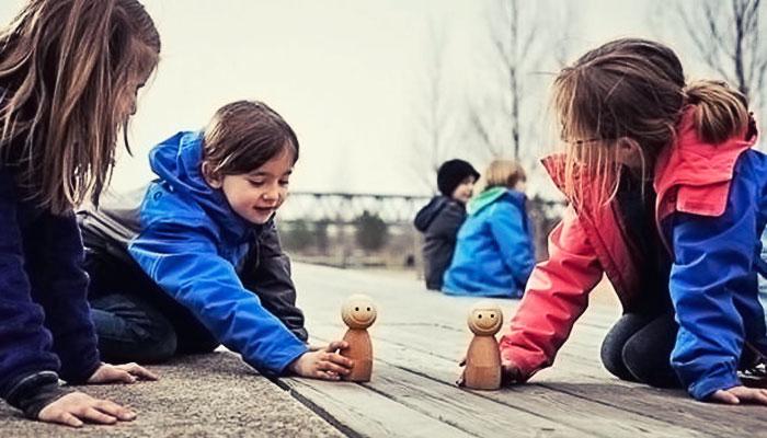 Умные деревянные куклы