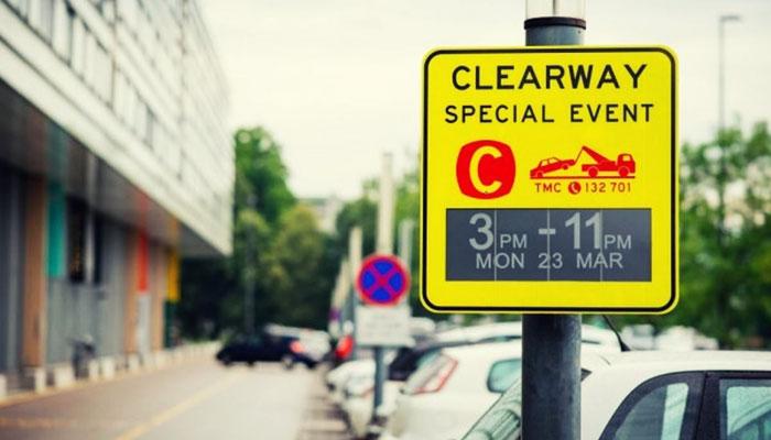 Дорожные знаки на основе электронных чернил