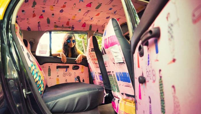 Дизайн салонов такси