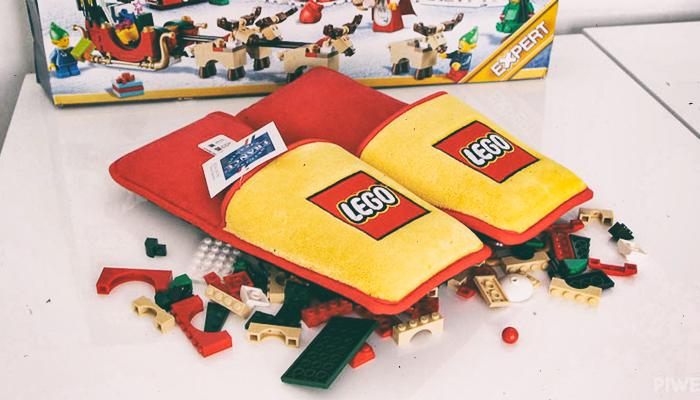 Тапочки для защиты от лего