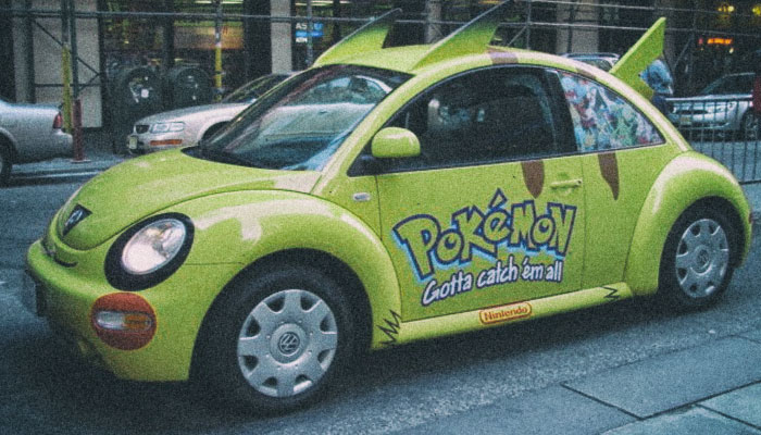 Покемон такси